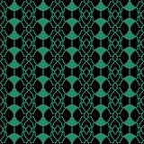 Antique seamless green background oval round geometry Royalty Free Stock Photography