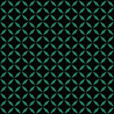 Antique seamless green background rhomb geometry cross Stock Photo