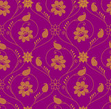 Antique seamless wallpaper Royalty Free Stock Photography