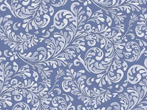 Antique Seamless Wallpaper Pattern Stock Photos