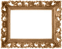 Antique sepia frame Royalty Free Stock Image