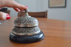 Antique service bell Stock Images