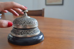Antique service bell Royalty Free Stock Photography
