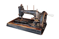 Antique sewing machine Stock Image