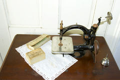 Antique Sewing Machine Royalty Free Stock Photo