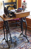 Antique Sewing machine. Picture of Antique Sewing machine Stock Image