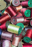Antique sewing thread Royalty Free Stock Image