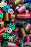 Antique sewing thread Stock Image