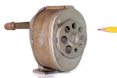 Antique sharpener Stock Images
