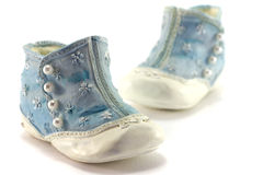 Antique shoes Stock Images