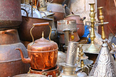 Antique shop Royalty Free Stock Photos