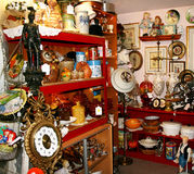 Antique shop Stock Image