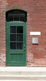 Antique Shop Door Stock Photo