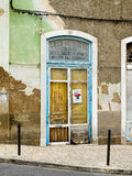Antique shop facade. Portugal Stock Photo
