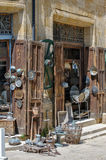 Antique shop in Nicosia, North Cyprus Royalty Free Stock Photo