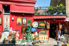 Antique Shop in Notting Hill royalty free stock image