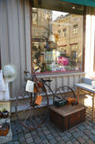 An antique shop in the old town, Gothenburg, Sweden. Royalty Free Stock Image