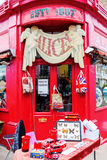 Antique shop at the Portobello Road in London, UK Royalty Free Stock Photos