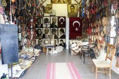 Antique shop in Turkey Stock Photo