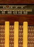 Antique shortwave radio Stock Photo