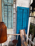 Antique Shutters Stock Photography