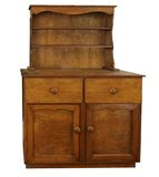 Antique Sideboard Stock Photo
