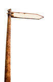 Antique signpost Royalty Free Stock Image