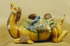 Antique of silk road Stock Images