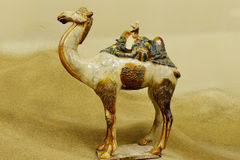 Antique of silkroad heritage Stock Images