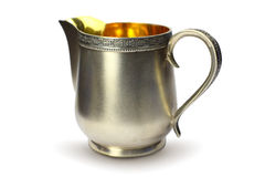 Free Antique Silver Cream Jug Royalty Free Stock Photography - 9436717
