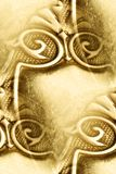 Antique silver design abstract Royalty Free Stock Photos