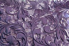 Antique silver design abstract. Antique silver design as grunge background abstract Royalty Free Stock Photo