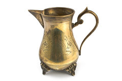 Antique silver jug Royalty Free Stock Images