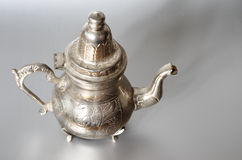 Antique silver jug Royalty Free Stock Image