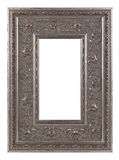 Antique silver Picture Frame Stock Image