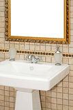 Antique sink Royalty Free Stock Images