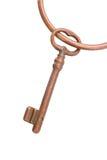 Skeleton key on ring Stock Image