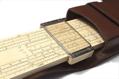Antique Slide Rule Stock Photography