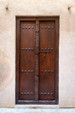 Antique small wooden door Royalty Free Stock Image