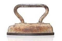 Antique smoothing iron Royalty Free Stock Photos