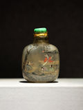 Antique snuff bottles Royalty Free Stock Images