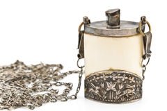 Antique snuffbox Royalty Free Stock Images