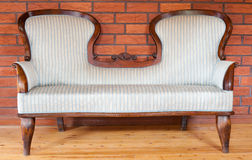 Antique sofa Stock Photography