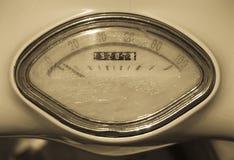 Antique speedometer stock photography
