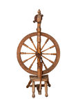 Antique spinning wheel Royalty Free Stock Photos