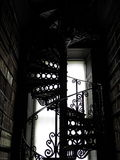 Antique Spiral Staircase Royalty Free Stock Images
