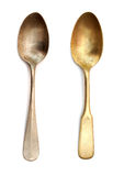Antique spoons Royalty Free Stock Image