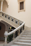 Antique stairs of beautiful mansion house. An antique stairs of beautiful mansion house royalty free stock photography