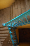 Antique stairs in Old Havana royalty free stock photo