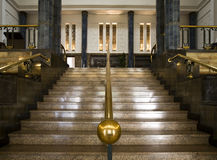Antique stairway Royalty Free Stock Photo